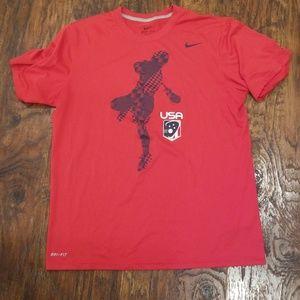 NIKE 🇺🇸USA Lacrosse shirt